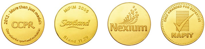 Chocolate Coins for Business