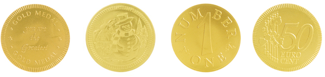 Chocolate Coins for Personal